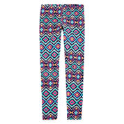 Arizona Printed Ankle Leggings - Girls 7-16 and Plus