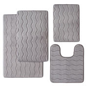 Memory Foam Bath Rug Collection