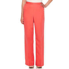 Alfred Dunner® Cozumel High-Rise Solid Pants - Petite