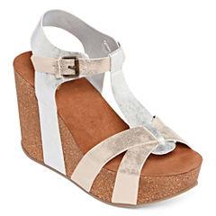 Mia Girl Akron Womens Wedge Sandals
