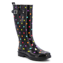 Western Chief Dot City Womens Waterproof Rain Boots
