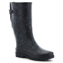 Western Chief Wide Calf Feminine Floral Waterproof Womens Waterproof Rain Boots