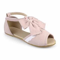 Journee Kids Girls Slip-On Shoes - Little Kids/Big Kids
