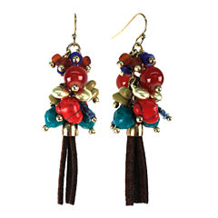 Aris by Treska Tassle Cluster Earrings