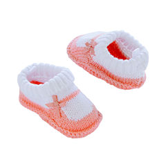 Carter's® Knitted Mary Jane Crocheted Booties - Baby Girls newborn-24m