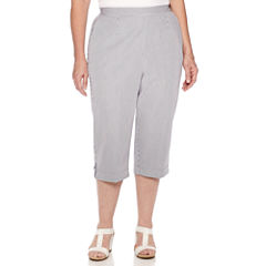 Alfred Dunner Plus Size Capris   Cropped for Women - JCPenney