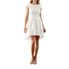 Blu Sage Short Sleeve Party Dress