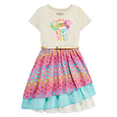 Shopkins Short Sleeve Dress - Big Kid Girls