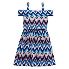 Knit Works Belted Off-Shoulder Dress - Girls' 7-16
