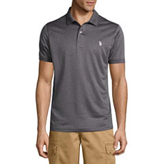U.S. Polo Assn. Embroidered Short Sleeve Solid Polo Shirt