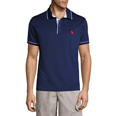 U.S. Polo Assn. Embroidered Short Sleeve Polo Shirt