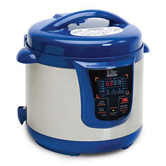 Elite Platinum EPC-808BL 8-Quart Digital Pressure Cooker with 13 Functions