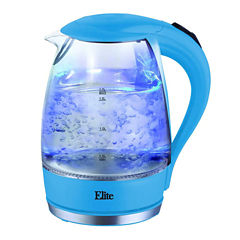 Elite Test Cordless Glass Electric Kettle
