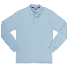 French Toast Ls Interlock Polo