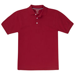 French Toast Ss Pique Polo Boys 2T-4T