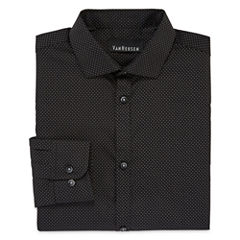 Van Heusen® Long-Sleeve Polka Dot Dress Shirt - Boys 8-20