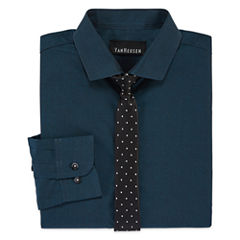 Van Heusen® Long-Sleeve Dress Shirt and Tie Set - Boys 8-20