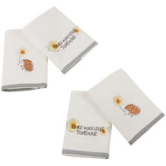Happy Hedgehog Cotton 4-pc. Bath Towel Set
