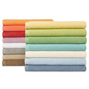 jcp EVERYDAY™ Quick Dry Ripple Bath Towels