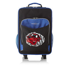 Obersee® Kids Racecar Luggage with Integrated Cooler