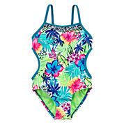 Breaking Waves Amazon Cutie One-Piece Swimsuit - Girls 4-16