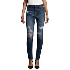Arizona High-Rise Super Skinny Jeans - Juniors