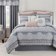 Eva Longoria Home Bethany 4-pc. Comforter Set & Accessories