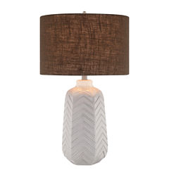 Catalina Chevron Table Lamp