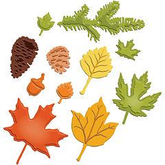 Spellbinders™ Shapeabilities® Die, Fall Foliage