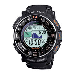 Casio® Pro Trek Mens Triple Sensor Multifunction Hiking Watch PRW2500-1