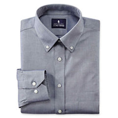 Stafford® Executive Non-Iron Cotton Pinpoint Oxford–Big & Tall