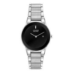Citizen® Eco-Drive® Axiom Womens Silver-Tone Watch GA1050-51E