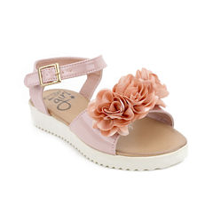 Olivia Miller Penelope Girls Strap Sandals - Little Kids/Big Kids