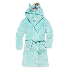 Total Girl Long Sleeve Robe-Big Kid Girls