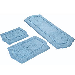 Chesapeake Merchandising Paradise 3-pc. Memory Foam Bath Rug Set
