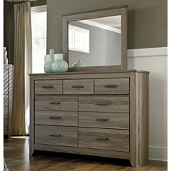 Signature Design by Ashley® Zelen Dresser with Mirror