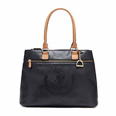 Us Polo Assn. Billy Triple Entry Tote Bag