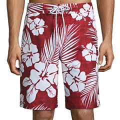 The Foundry Big & Tall Supply Co. Foundry Pattern Swim Shorts Big and Tall