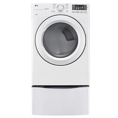 LG 7.4 cu. ft. Ultra Large Capacity Gas Dryer w/ NFC Tag On Technology