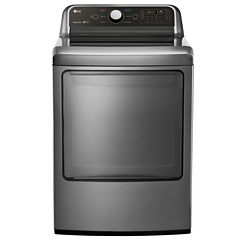 LG 7.3 Cu. Ft. Ultra Large Capacity Gas Dryer with EasyLoad™ Door