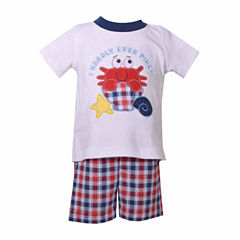 Bonnie Jean 2-pc. Short Set Baby Boys