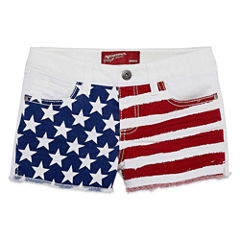 Arizona Woven Shortie Shorts - Big Kid Girls