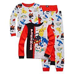 4-pc. Pajama Pokemon Big Kid