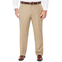 Stafford Flat Front Pants-Big and Tall