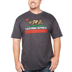 Short Sleeve Graphic T-Shirt-Big and Tall