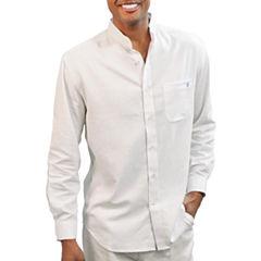 Steve Harvey Elbow Sleeve Button-Front Shirt