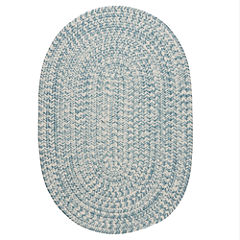 Colonial Mills Biscayne Tweed Braided Oval Reversible Rugs