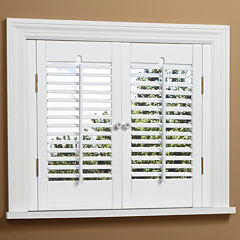 JCPenney Home™ Traditional Wood Interior Shutters – 2 Panels