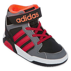 adidas BB9TIS Boys Basketball Shoes - Toddler