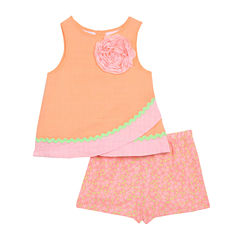 Marmellata 2-pc. Short Set Baby Girls